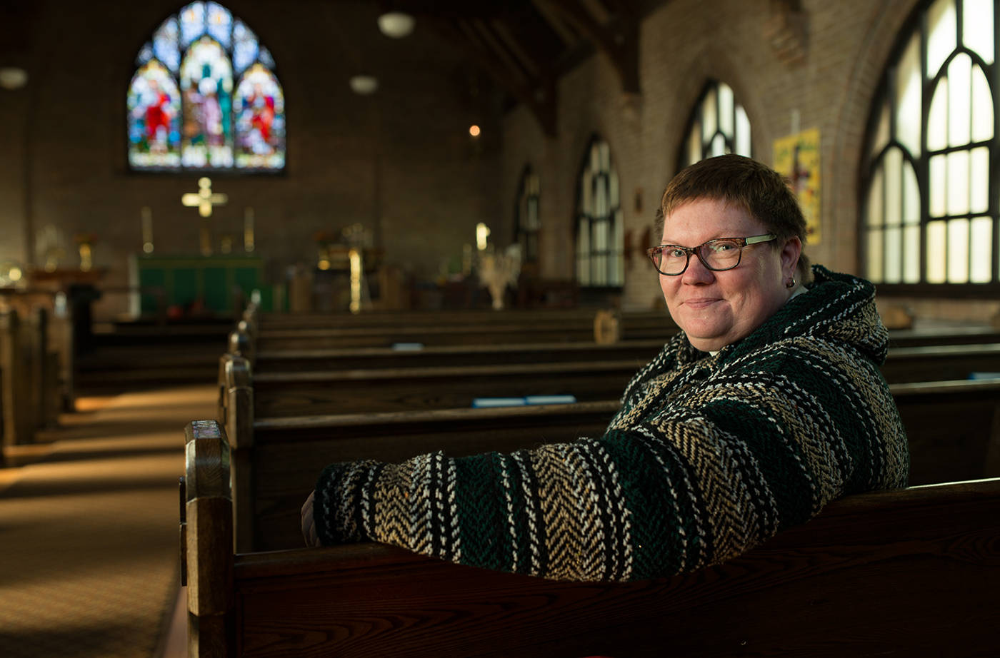 Reverend Andrea Brennan opens up about being a queer, female Anglican minister and how she came to be in the position at a pivotal time in the church's history. Phil McLachlan/The Free Press