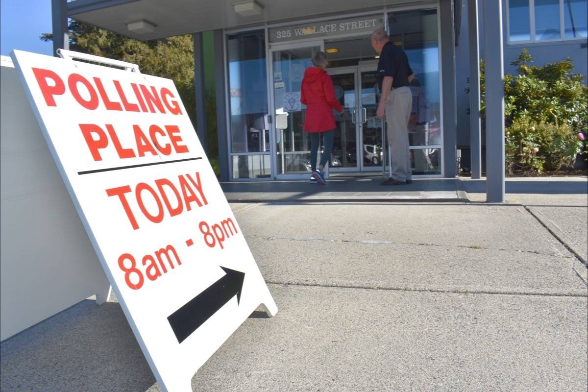 Langley polling stations open at 8 a.m. today