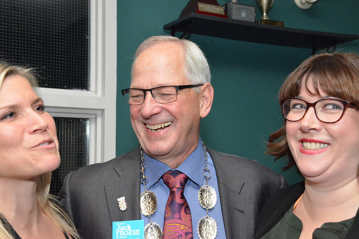 ELECTION 18: Langley Township, you chose Jack Froese for mayor