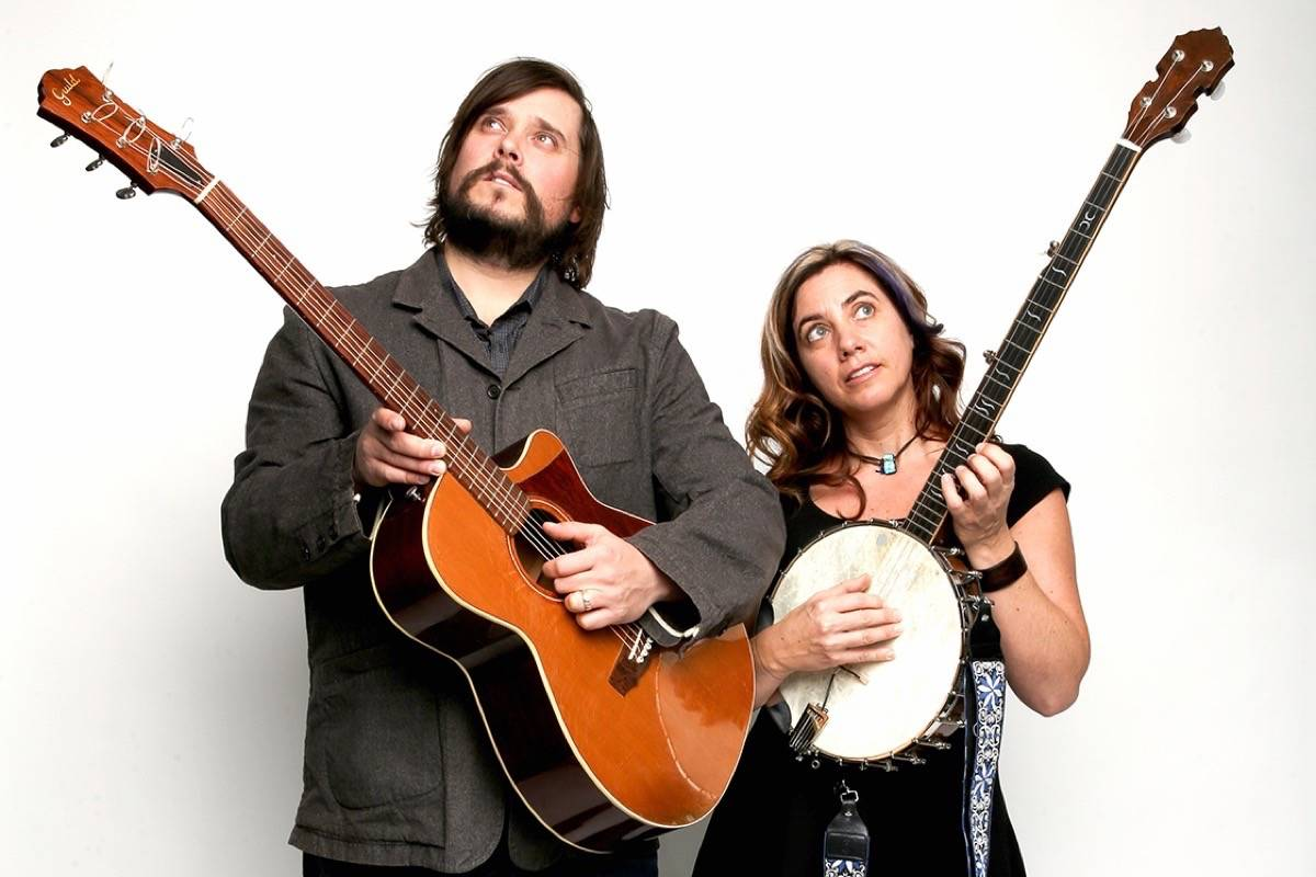 Folk-rock duo JK Edwards and Cara Luft make up the band called The Small Glories which is performing at Langley's Bez Arts Hub in November. Courtest Mike Latschislaw