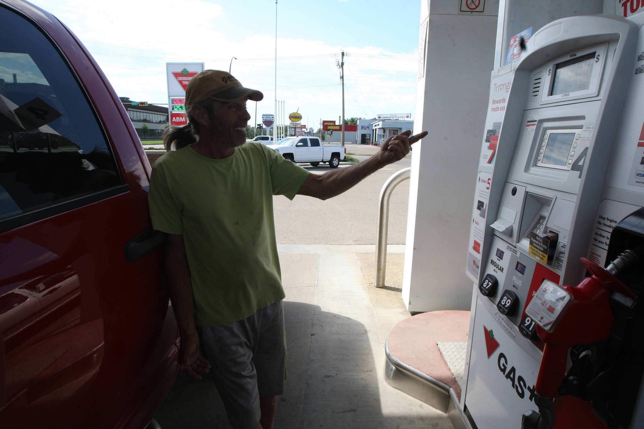 Chilliwack residents are fuming over the cost of local gas prices in relation to nearby communities. (Photo by MURRAY CRAWFORD/Advocate staff)