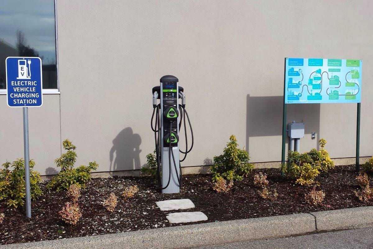 B.C. is adding to its network of vehicle charging stations, but most give the electricity away at taxpayer expense. (B.C. government)