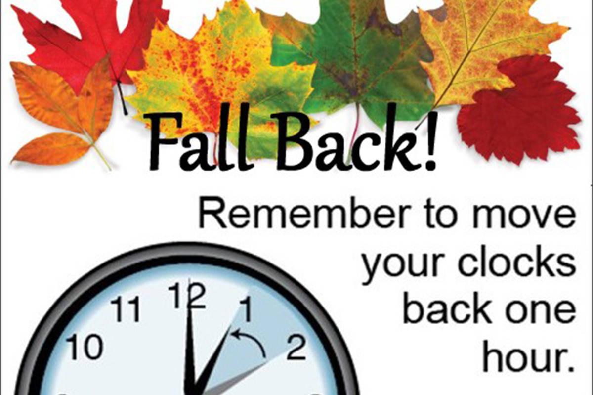 Turn your clocks back: Daylight Saving time ends Sunday