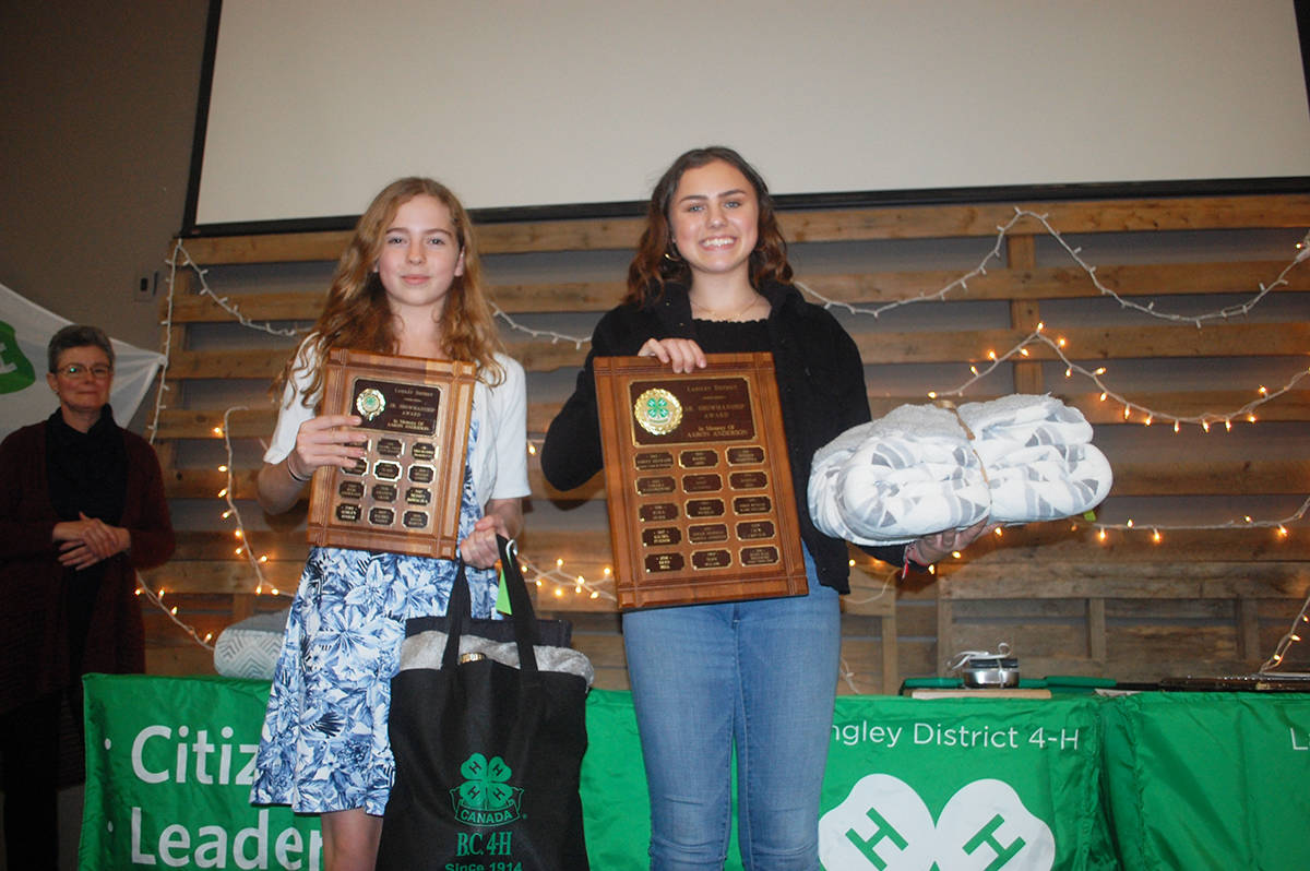 PHOTOS: Langley 4H'ers earn top prizes – Langley Advance Times
