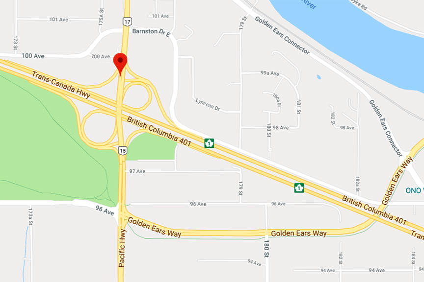 Driver dead after dump truck hits median, catches fire on Highway 1