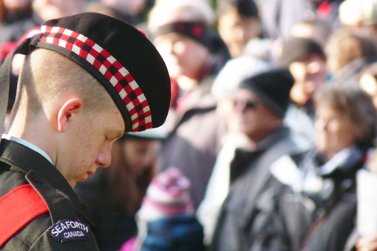 VIDEO: Remembrance Day in Fort Langley