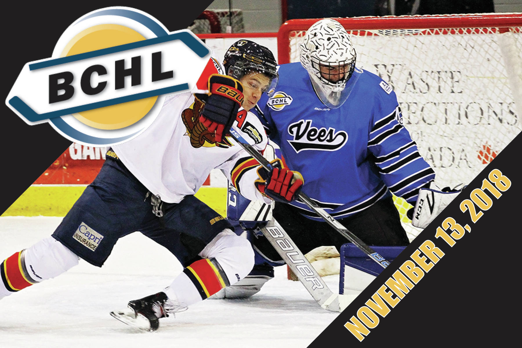 Around the BCHL: Surrey Eagles sliding and Cassidy Bowes flows