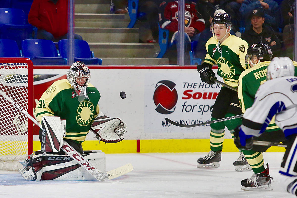 Giants are hoping to earn a win Wednesday in Seattle, when they take on the Thunderbirds. That, following a loss Sunday against Victoria, and another loss the night before against Everett. (Rik Fedyck/Vancouver Giants)