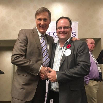 Bernier's People's Party of Canada arrives in the Fraser Valley