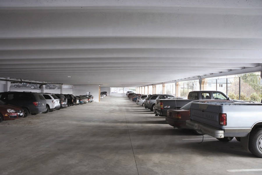 Parkade at Kelowna General Hospital operated by the Interior Health Authority. Photo: Contributed