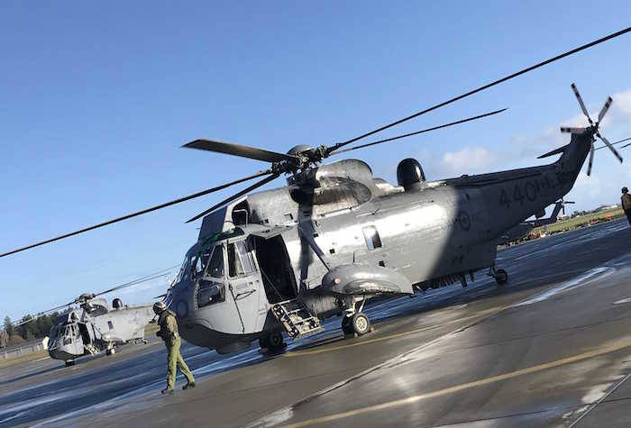 Royal Canadian Air Force retires CH-124 Sea King helicopters