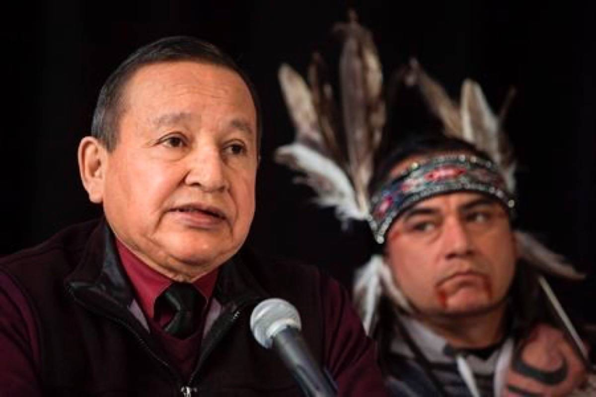 Grand Chief Stewart Phillip recognized with honorary degree