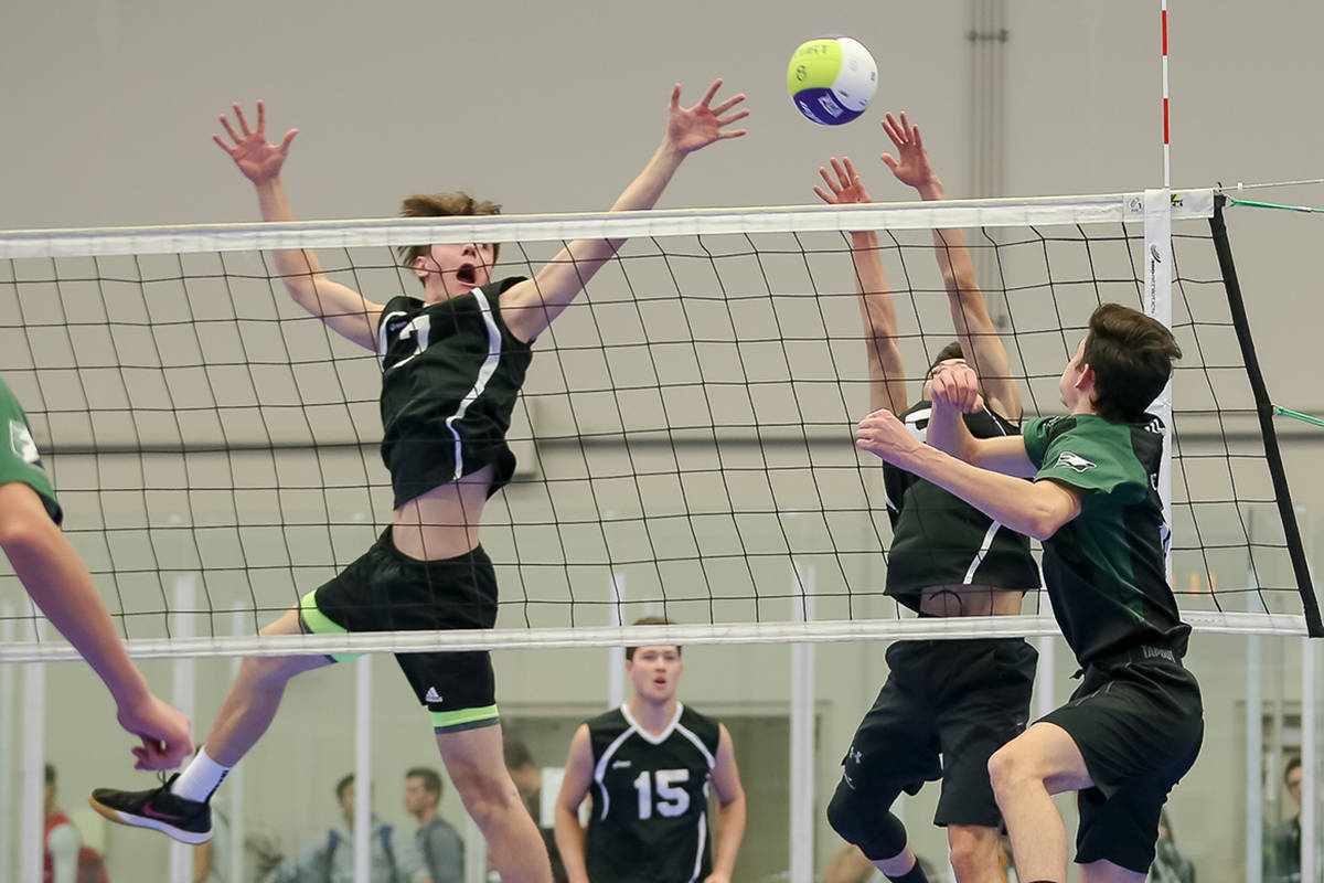Langley Christian Lightning victorious on first day of volleyball tournament