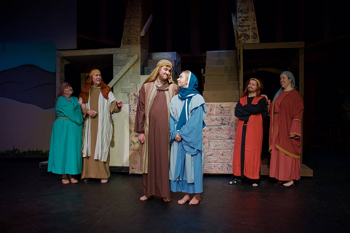 """""""Two from Galilee"""" plays at Theatre in the Country from Dec. 5 to 15. Courtesy Reg Parks"""