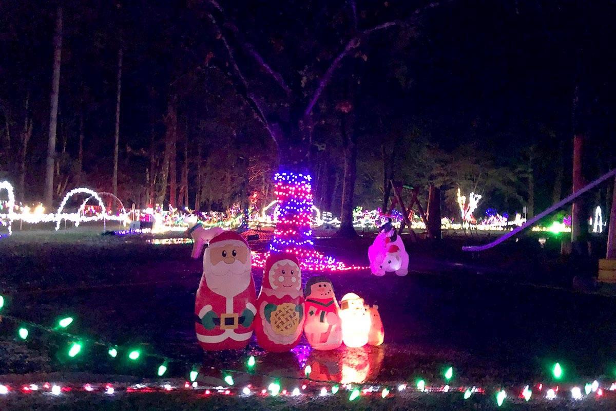 Christmas in Williams Park opened on Nov. 30. Miranda Fatur Langley Times