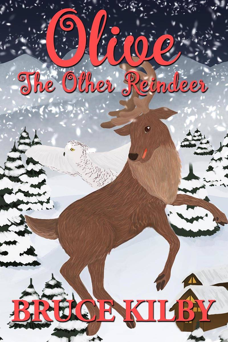Bruce Kilby's latest book is the first Christmas-themed children's book he has published. Courtesy Bruce Kilby