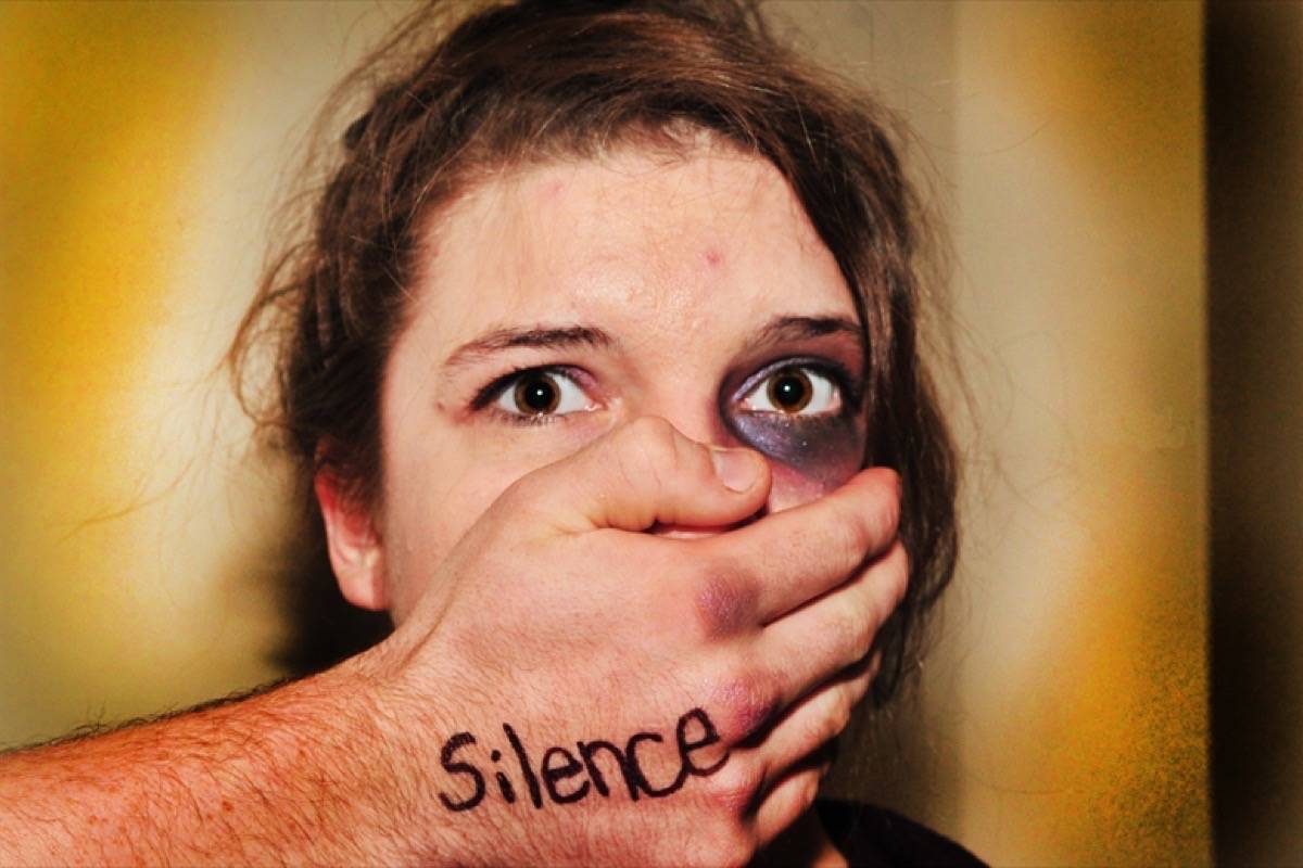 Nearly 80 per cent of violence in relationships was directed at women. (Ashley L. Gardner)
