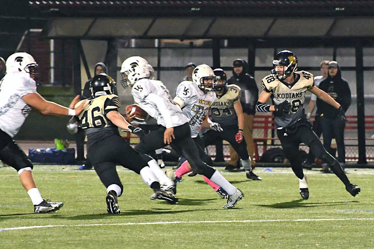 Kodiaks won BCCFA Provincial Championships for the second year in a row, downing Victoria. Mark J Morrison Photography