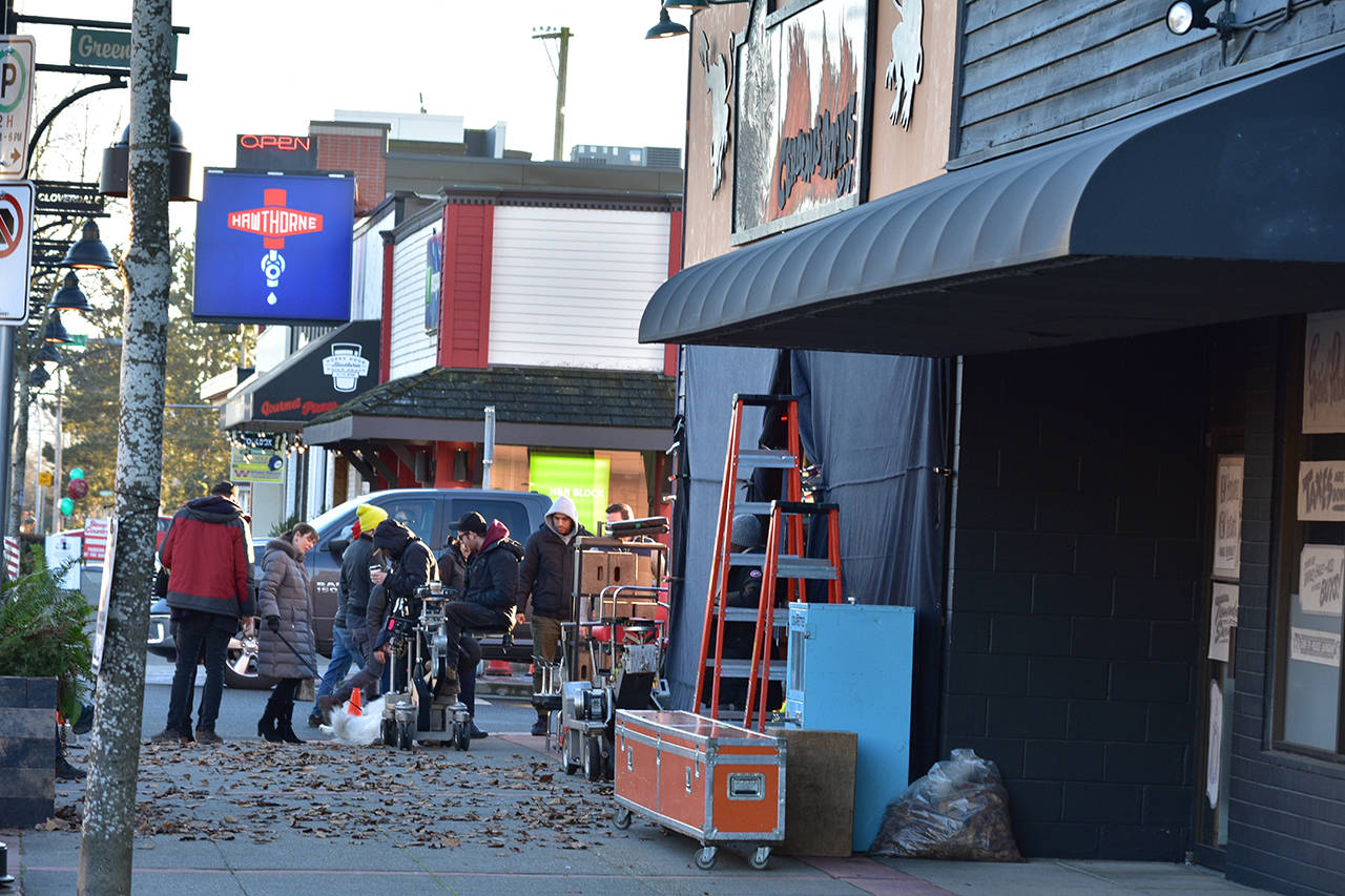 'Chilling Adventures of Sabrina' is back filming in Cloverdale Wednesday (Dec. 5). (Grace Kennedy photo)