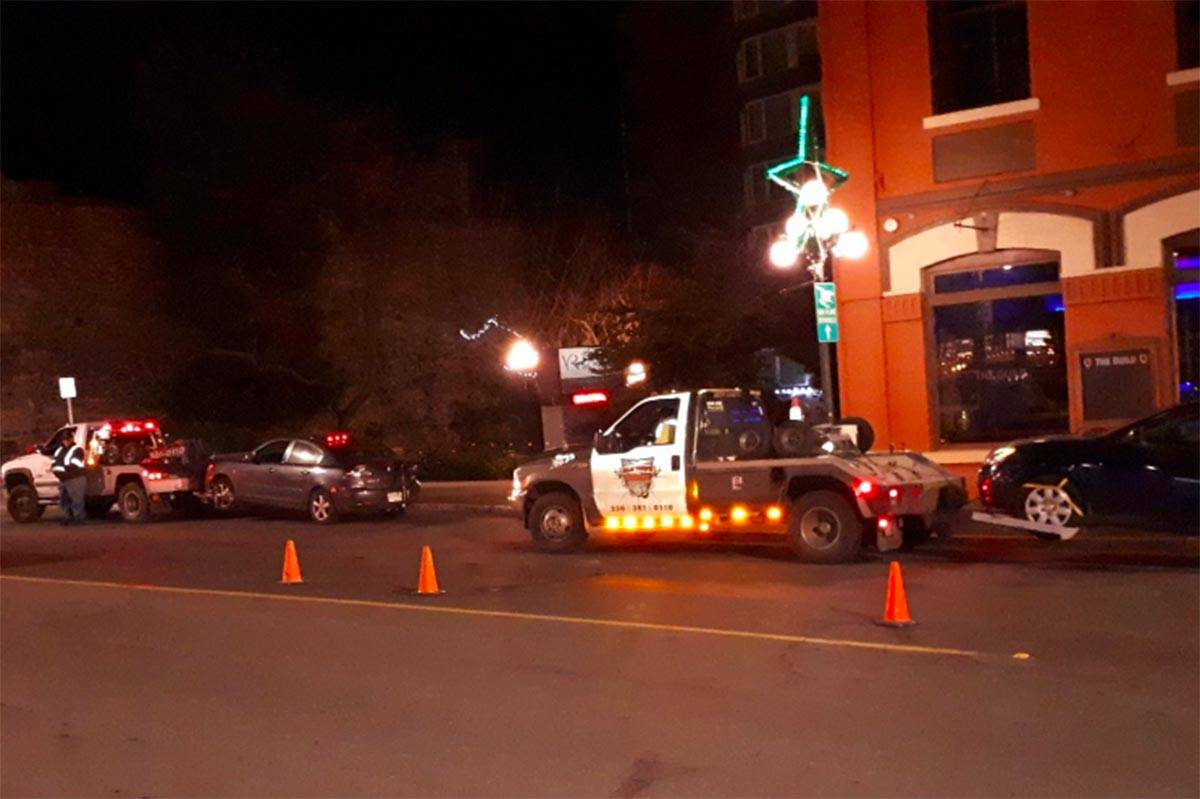 B.C. police stop alleged drunk driver who offered up burger instead of ID