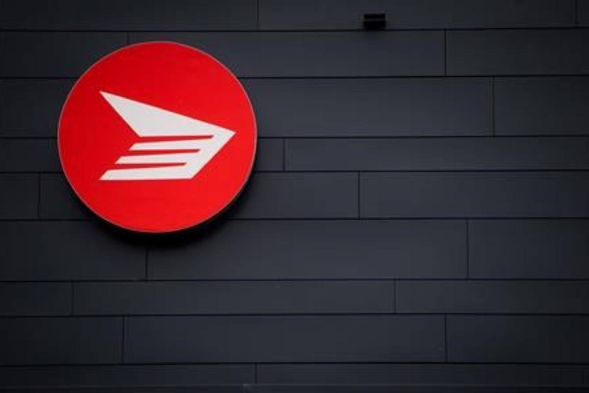 The Canada Post logo is seen on the outside the company's Pacific Processing Centre, in Richmond, B.C., on Thursday June 1, 2017. Two weeks after the federal government legislated an end to rotating strikes by Canada Post employees, the federal government has appointed a mediator to bring a final end to the labour dispute. (Darryl Dyck/The Canadian Press)