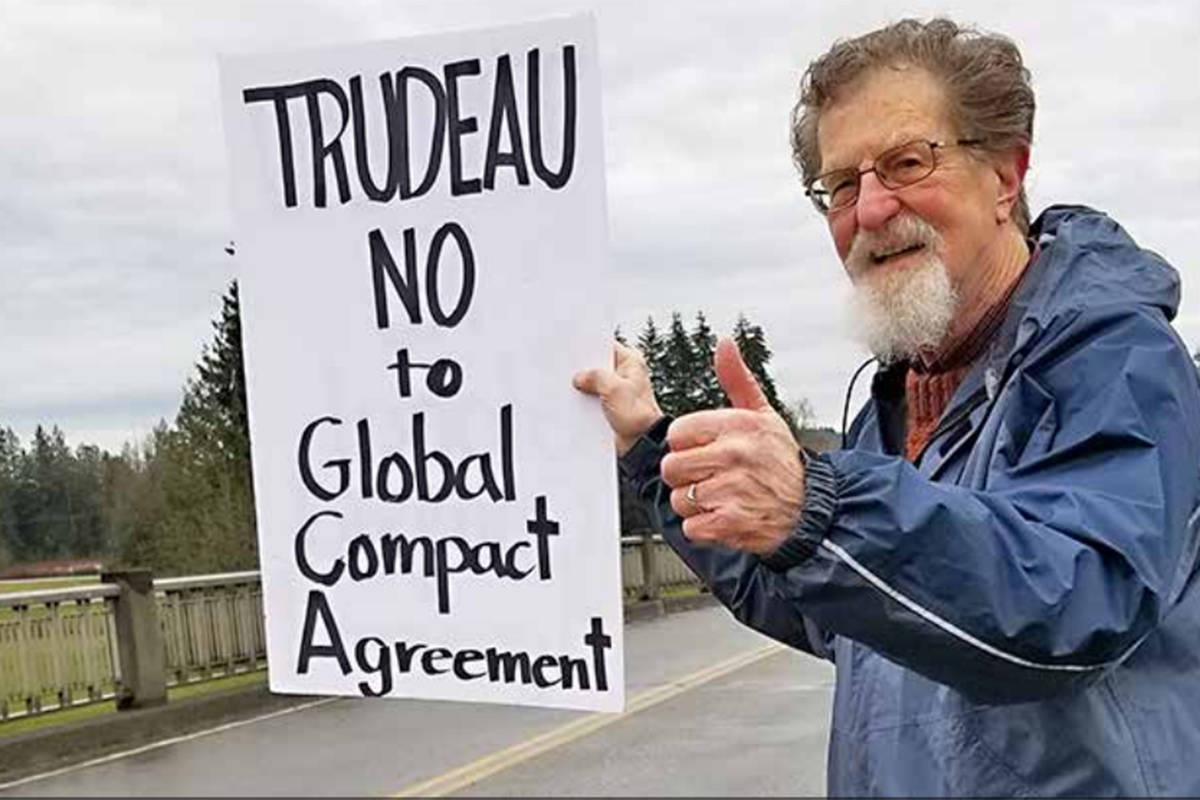 Question of the week: Are you fearful the proposed United Nations immigration compact will strip Canada of its rights to control immigration?