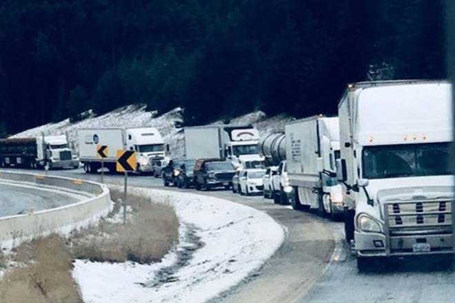 Update: Coquihalla re-opens after vehicle incident