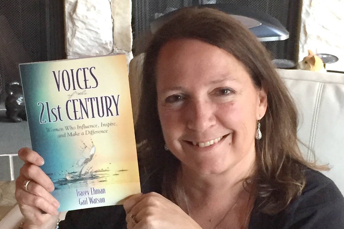 Langley's Tracey Ehman is one of thirty authors in a book about influential women. Courtesy Tracey Ehman