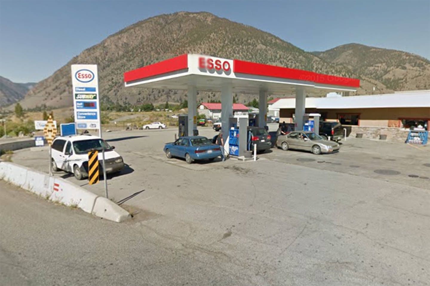 Google maps                                A man is facing several charges after pulling a firearm on an employee and customer at the Hilltop Esso gas station in Keremeos on Sunday morning.