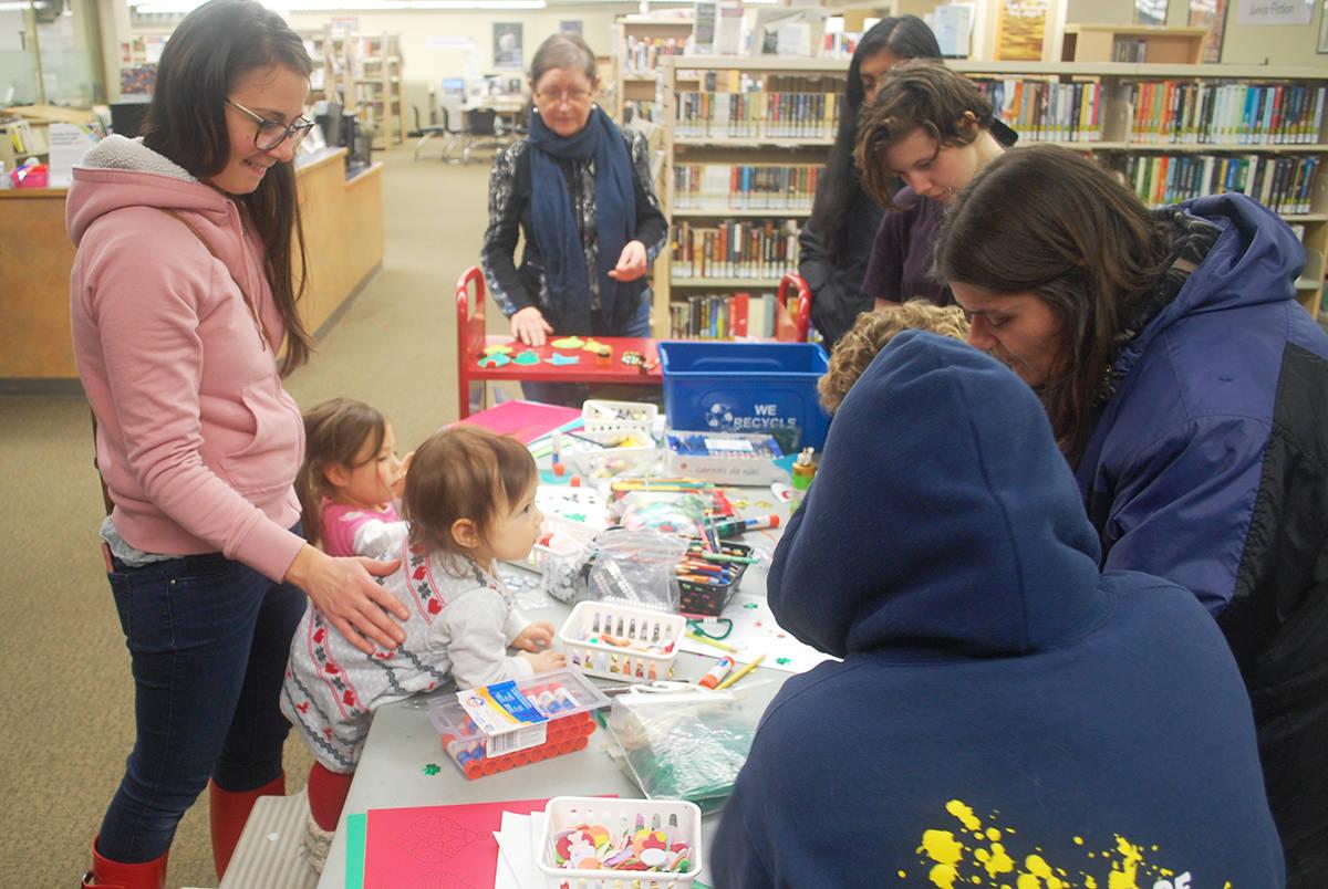 Christmas fun at Aldergrove Library: VIDEO & PHOTOS