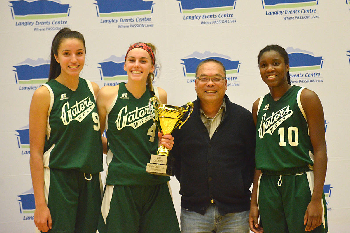 Langley Gators take Tsumura provincial basketball championships