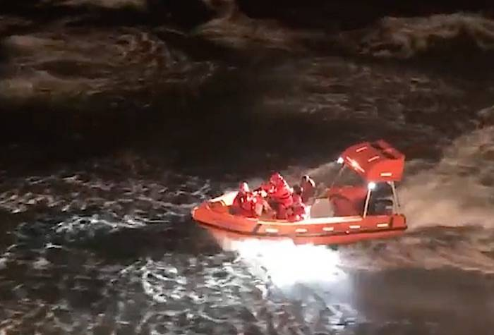 Man rescued from sinking boat off the coast of Vancouver Island