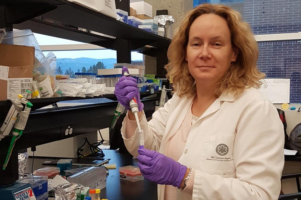 Christina Haston is an associate professor of medical physics at UBC's Okanagan campus. - Credit: UBCO