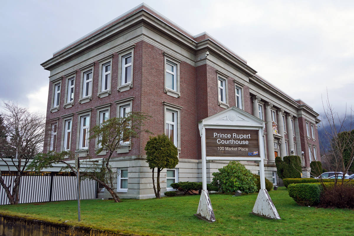Prince Rupert Port Authority was in court on Dec. 19 for charges relating to provincial environmental charges and federal fisheries offences. (Shannon Lough / The Northern View)