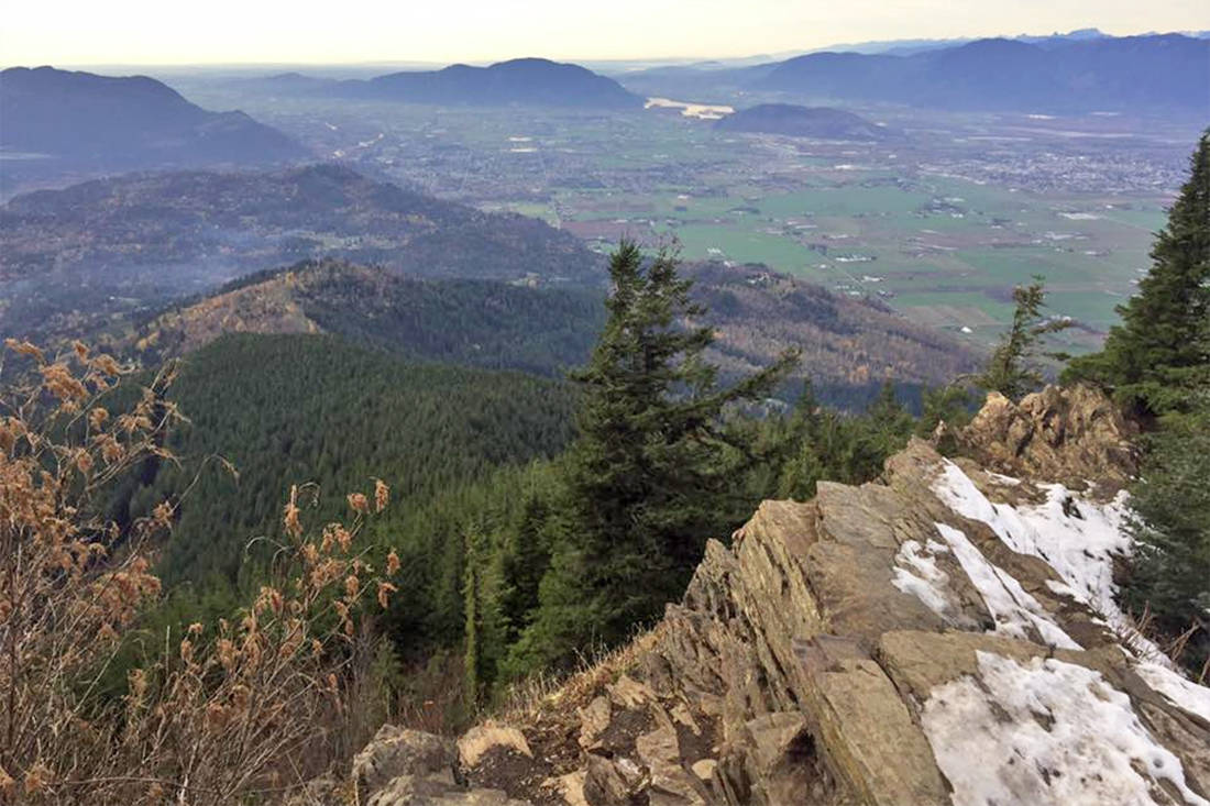 View of Chilliwack and the Fraser Valley from Elk Mountain. (Paul Henderson/ The Progress file)