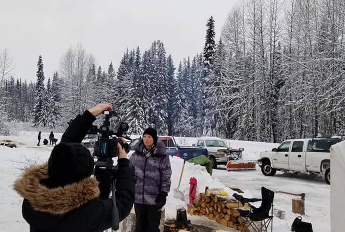 A new checkpoint on Morice Lake Forest Service Road went up Dec. 17, the day an injunction against the Unist'ot'en camp to allow Coastal GasLink access went into effect. Facebook photo