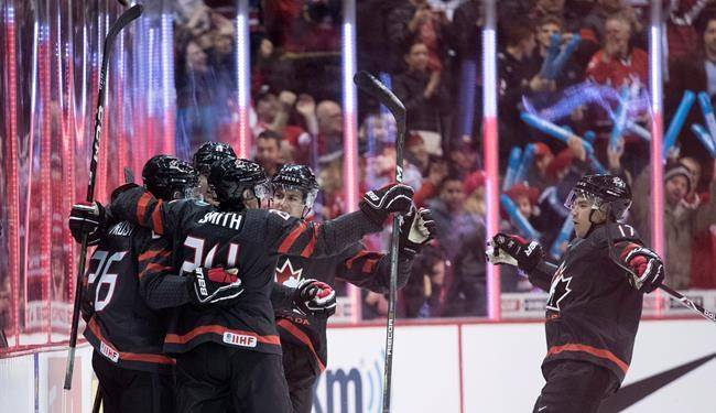 Team Canada looks to defend hockey gold medal on home ice; starts Boxing Day