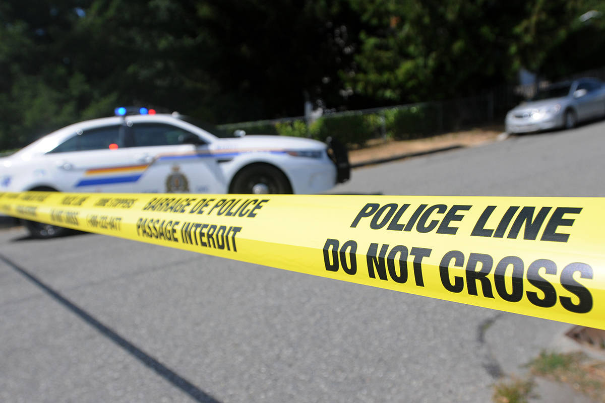 Abbotsford Police located a deceased man on a rural property in Abbotsford on Christmas Day.