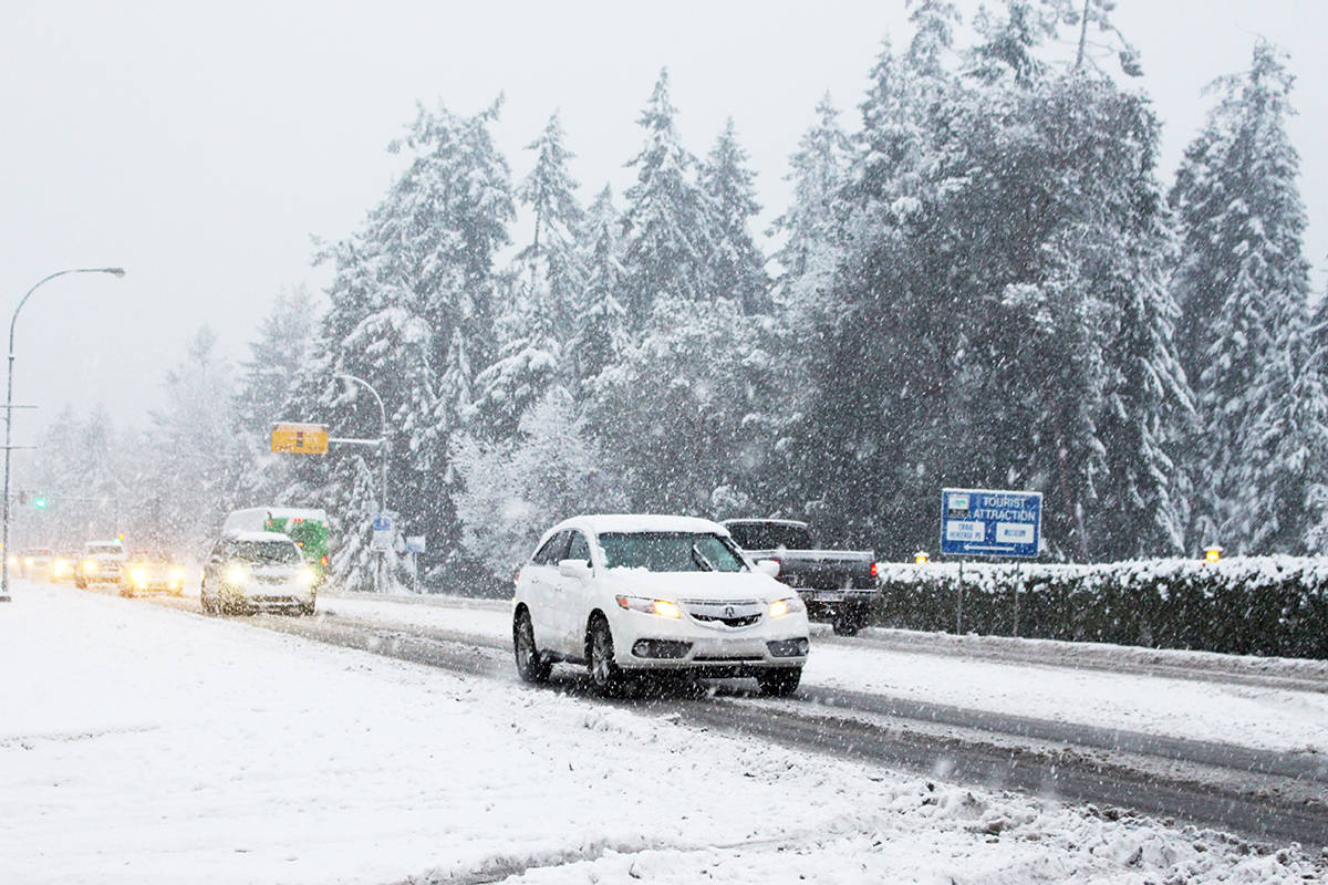 Winter blast for central B.C. as outages persist after south coast wind storm