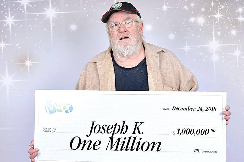 Kamloops man latest Lotto Max winner