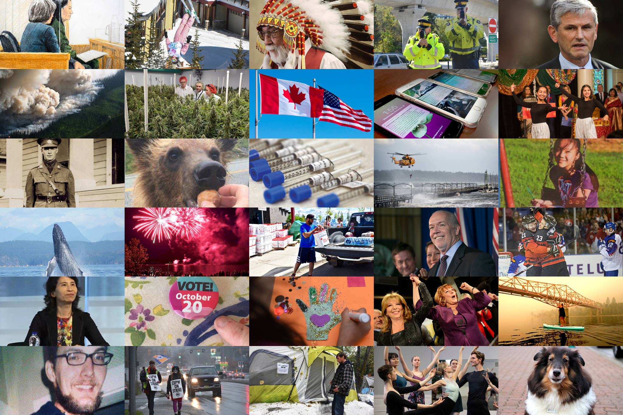 VIDEOS: B.C.'s top local news stories of 2018