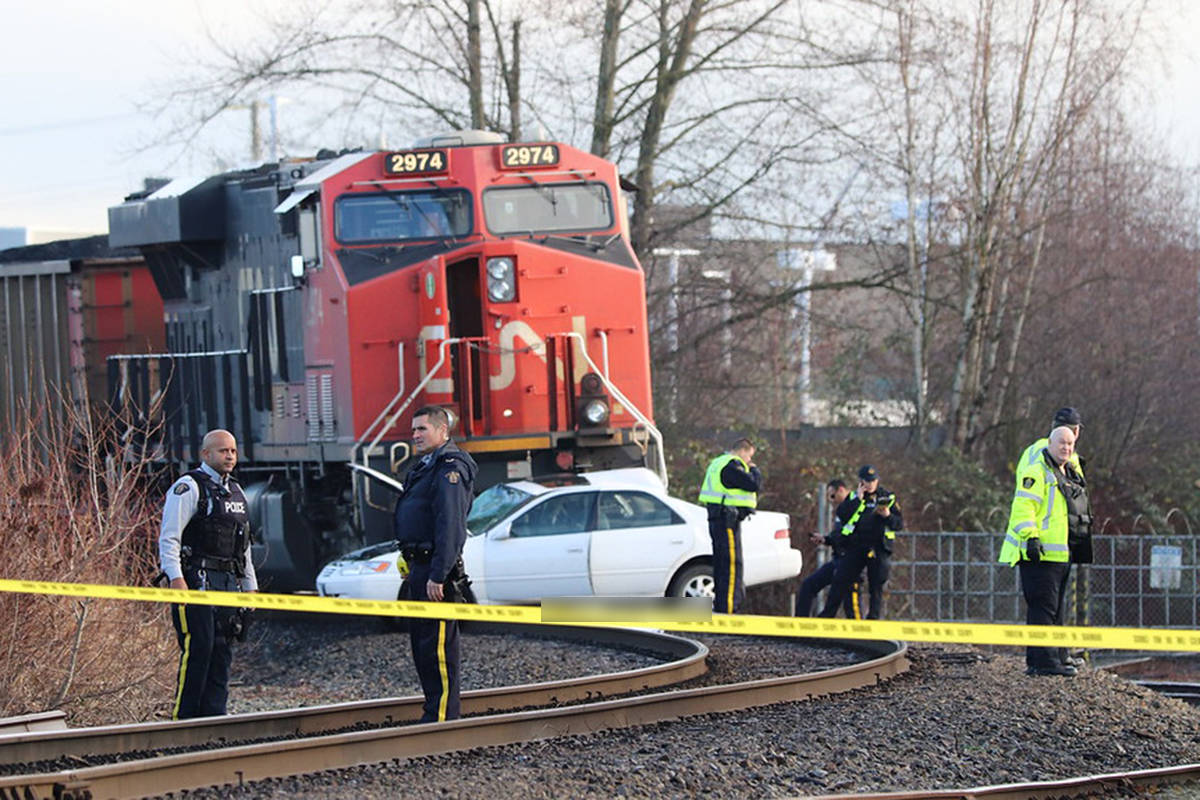 UPDATE: Victims of Langley train collision were husband and wife, 90 and 88