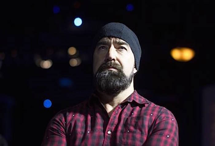 """Walk Off The Earth's Mike Taylor, known as """"Beard Guy"""" attends the announcement of the nominees for the Juno Awards at an event in Toronto on February 2, 2016. THE CANADIAN PRESS/Chris Young"""