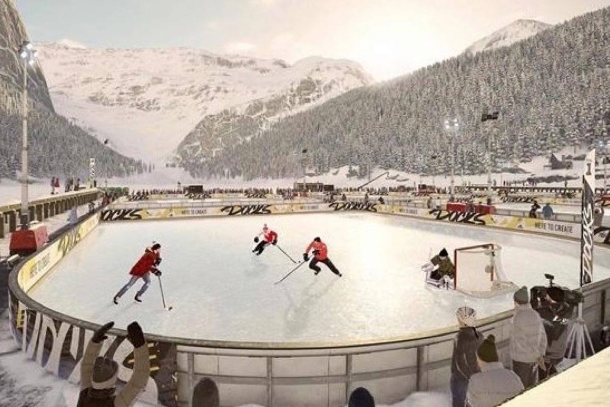 "A scene from EA Sports' ""NHL 19"" video game. (THE CANADIAN PRESS/HO, EA Sports)"