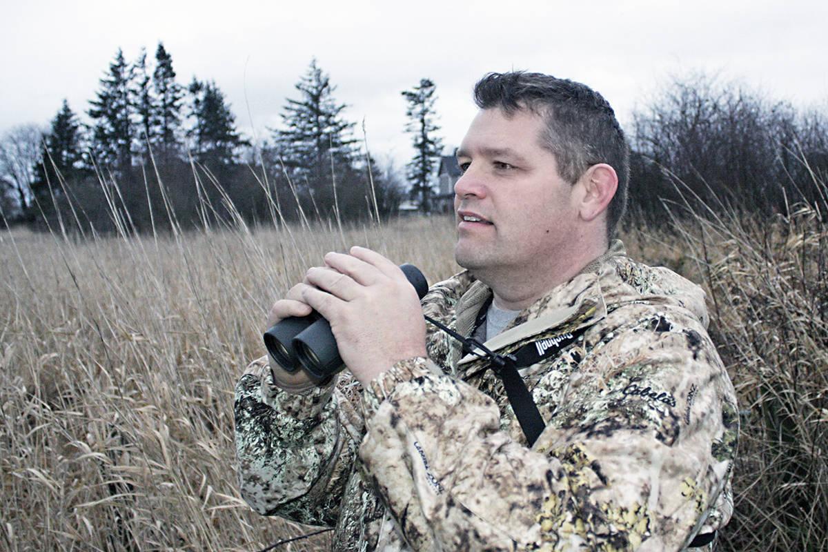 Langley bird count organizer Mike Klotz. Black Press photo