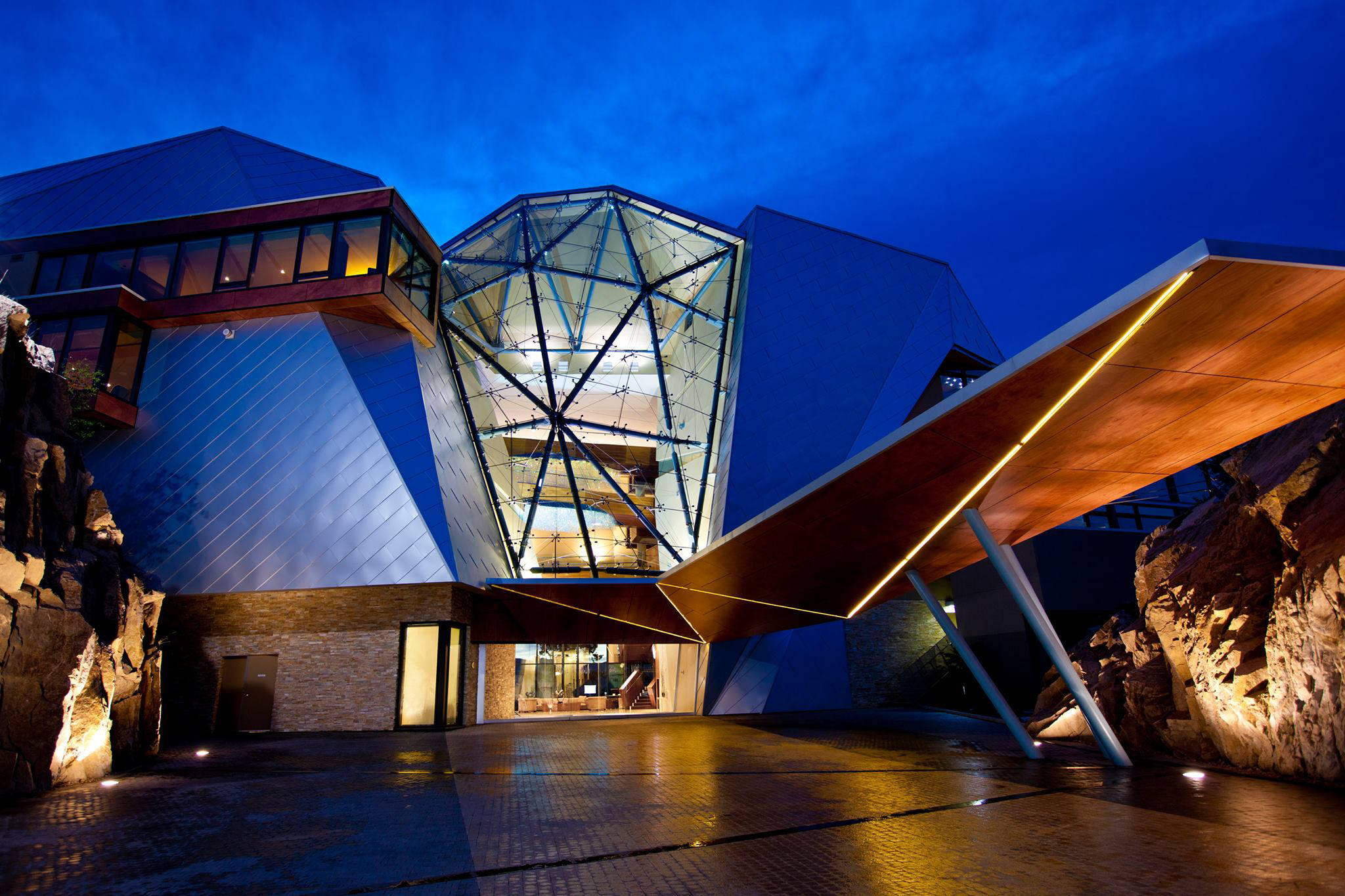 Sparkling Hill Resort in Vernon, B.C. photo: Sparkling Hill Resort's Facebook