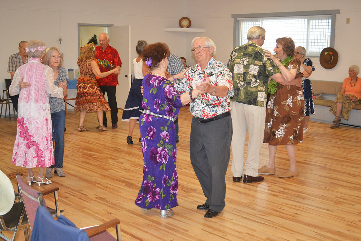 Old time dancers hopping in Aldergrove