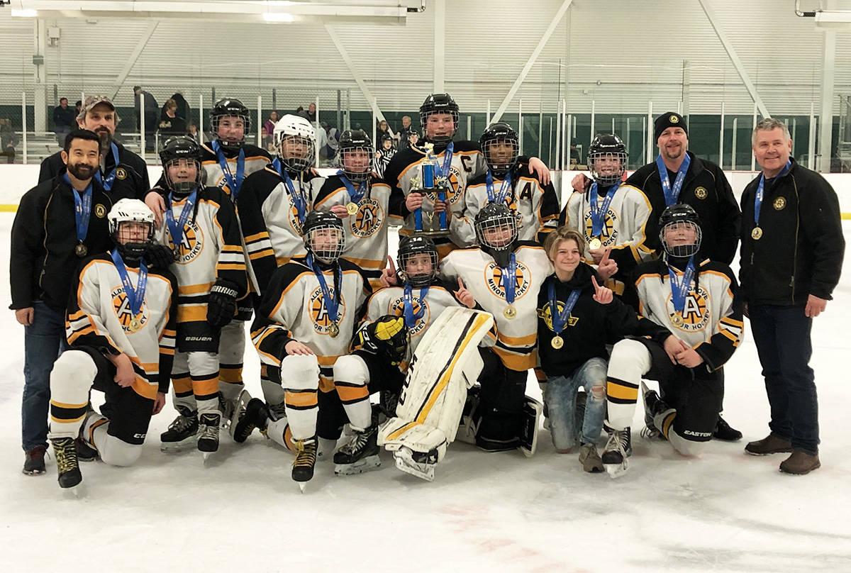 SUBMITTED: Aldergrove Minor Hockey's Bantam C1 team won Gold in the Cloverdale Ice Crushers Bantam Tournament.