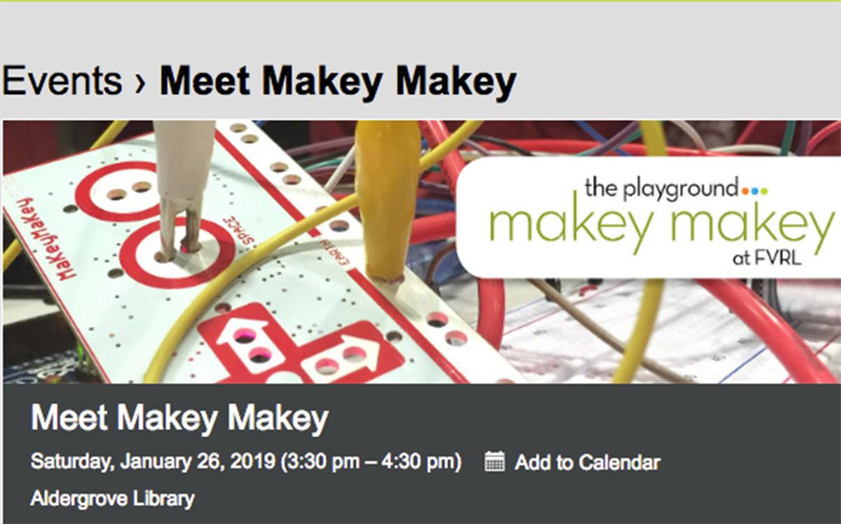 'Makey Makey' at Aldergrove Library