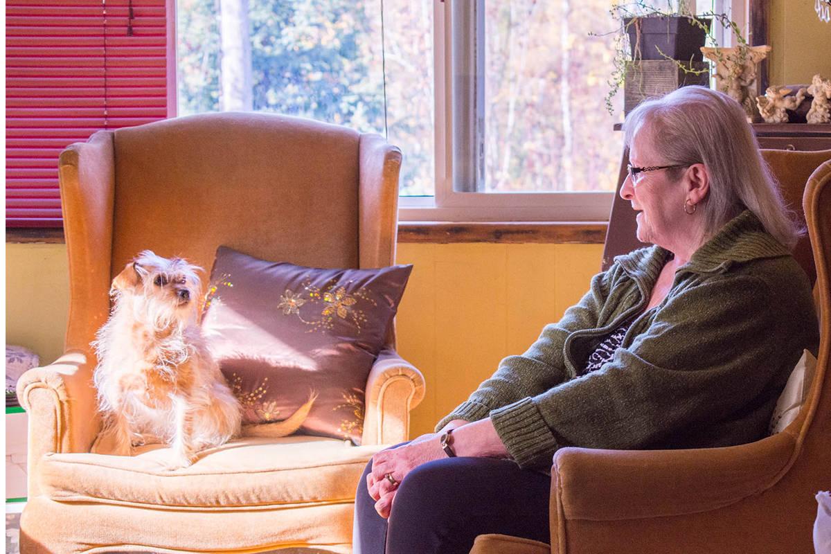 Myers' home companion. (Liam Harrap/Revelstoke Review)